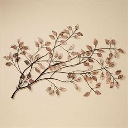 Branches at Sunrise Wall Sculpture Copper
