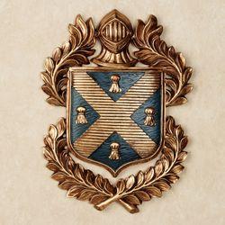 Tassel Coat of Arms Wall Plaque Midnight