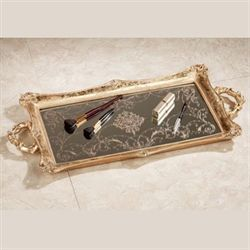 Letitia Gold Vanity Tray
