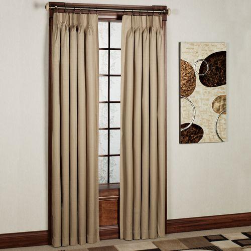 Crosby Pinch Pleat Curtain Pair