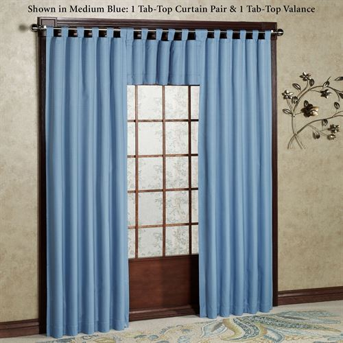 Crosby Tab Top Curtain Pair
