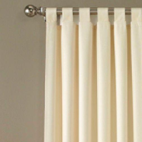 Crosby Tab Top Wide Curtain Pair 160 x 84