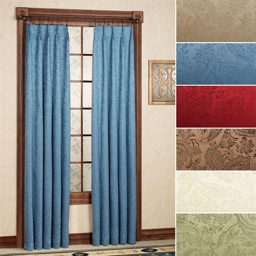 Gabrielle Pinch Pleat Curtain Pair