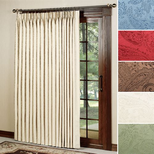 Gabrielle Pinch Pleat Patio Panel 96 x 84