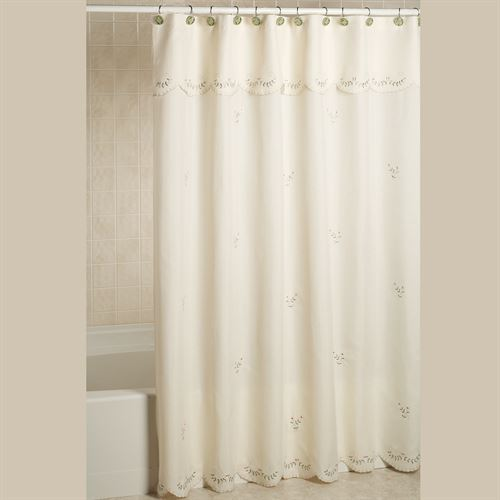 Forget Me Not Shower Curtain 70 x 72