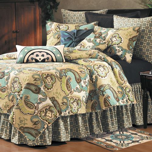 Kasbah Paisley Quilt Bedding