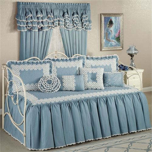 Reminisce Daybed Set Sterling Blue Daybed