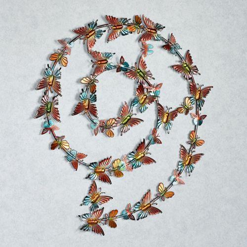 Fluttering Followers Wall Art Multi Pastel