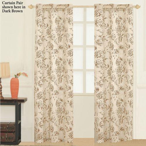 Covington Grommet Curtain Pair