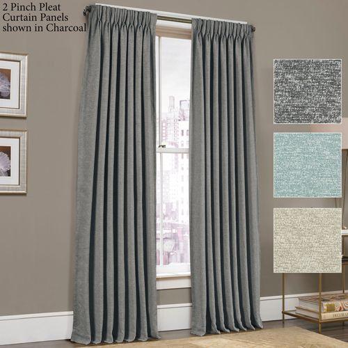 Menlo Pinch Pleat Curtain Panel