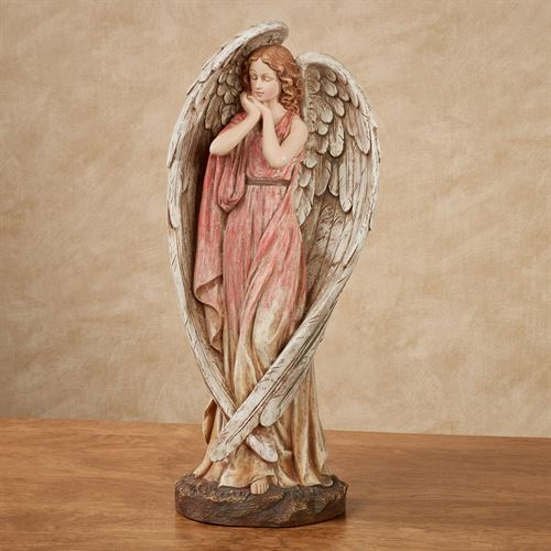 Angel Grace Table Sculpture Cranberry