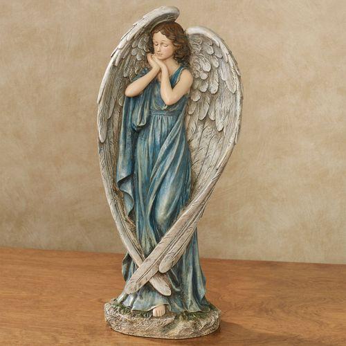 Angel Grace Table Sculpture Blue