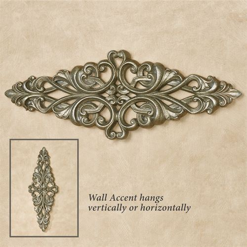 Tavora Wall Accent Aged Silver