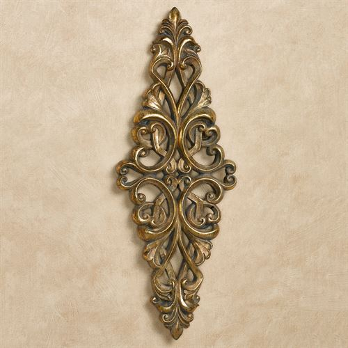 Tavora Wall Accent Gold/Black