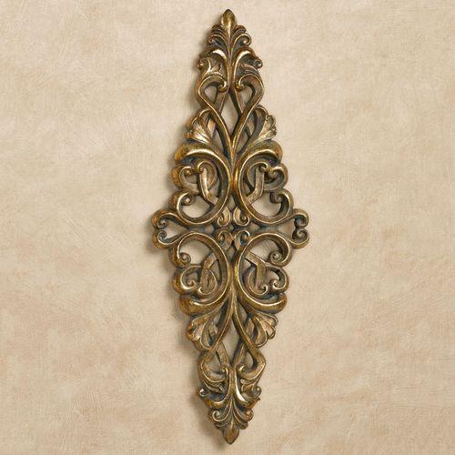 Tavora Wall Accent Gold/Black