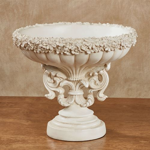 Cantrelle Decorative Centerpiece Bowl Ivory