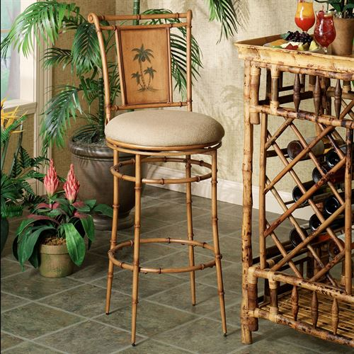 Royal Palm Tree Bar Stool