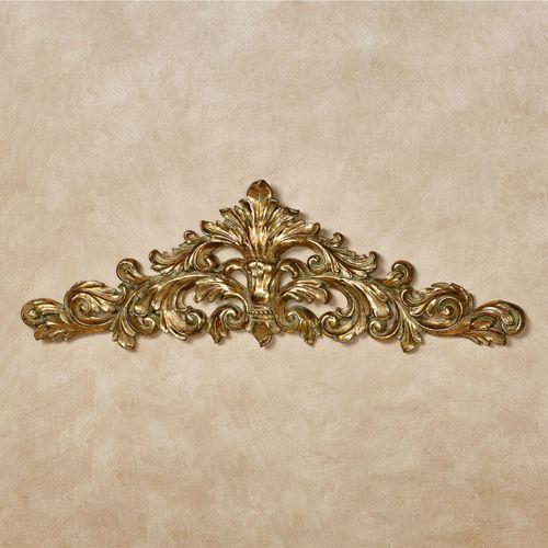 Veronique Decorative Wall Topper Verdi Gold
