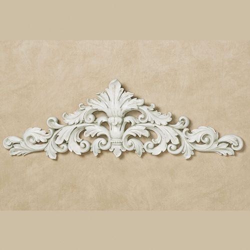 Veronique Decorative Wall Topper Antique White