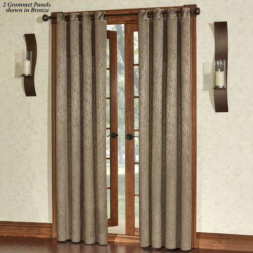 Essential Blackout Grommet Curtain Panel