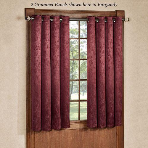 Essential Blackout Short Grommet Curtain Panel 56 x 54