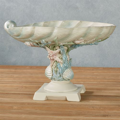 Shimmer Reef Decorative Centerpiece Bowl Multi Pastel