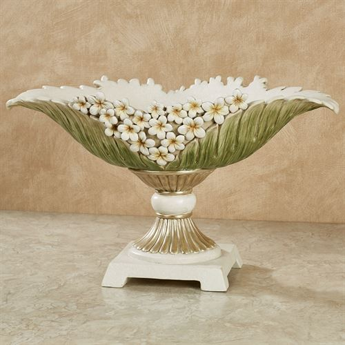 Island Bouquet Decorative Centerpiece Bowl Green