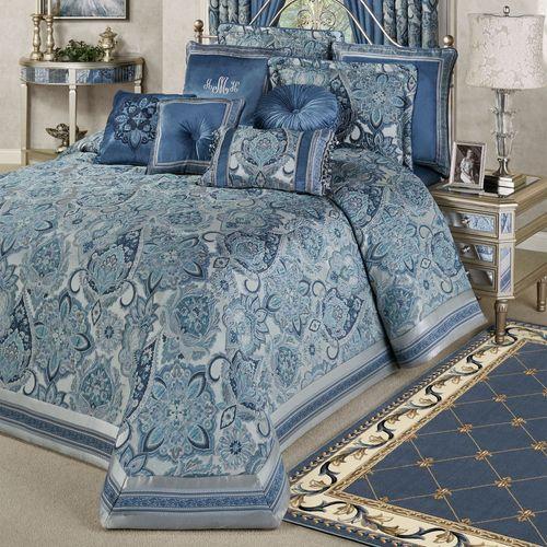 Arabelle Grande Bedspread Blue