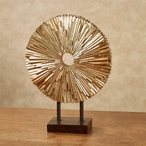 Radiance Table Sculpture Gold