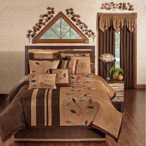 Leafbrook Comforter Set Multi Warm