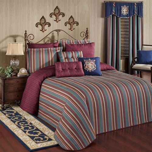 Brighten Grande Bedspread Multi Jewel