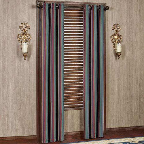 Brighten Grommet Curtain Pair Multi Jewel 84 x 84