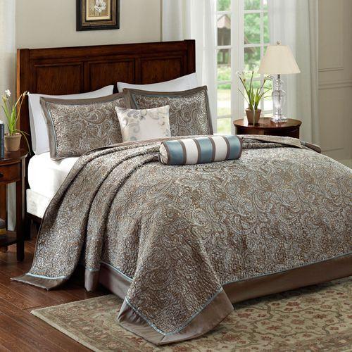 Aubrey Bedspread Bed Set Taupe