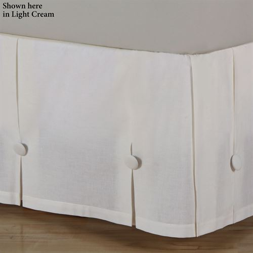 Juliette Box Pleated Bedskirt