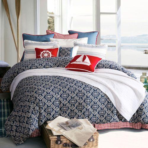 St. Clair Comforter Set Midnight Blue