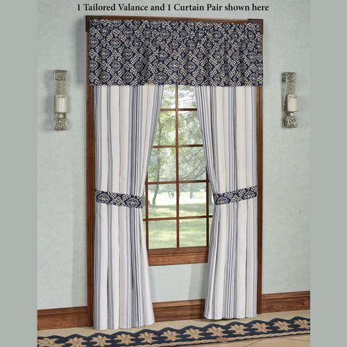St. Clair Tailored Curtain Pair Pearl 96 x 84