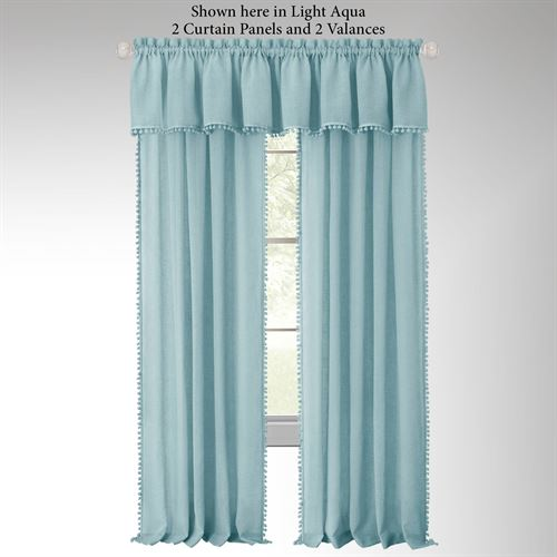 Findlay Semi Sheer Curtain Panel