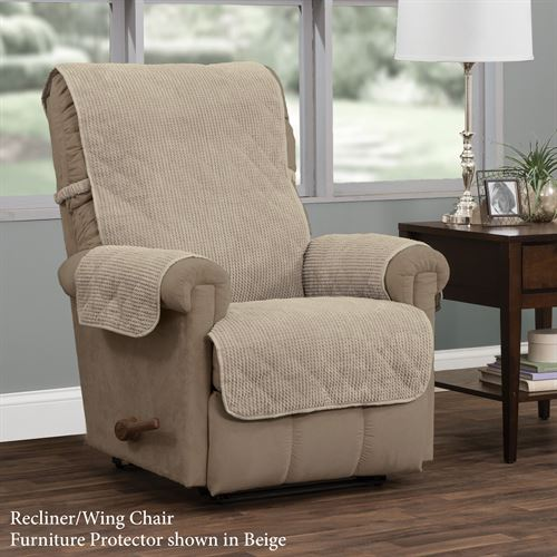 Remington Secure Fit Furniture Protector Recliner/Wing Chair