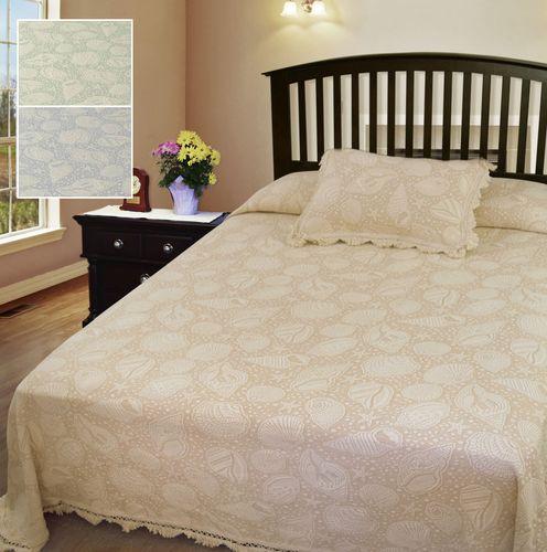 Seashell Matelasse Bedspread