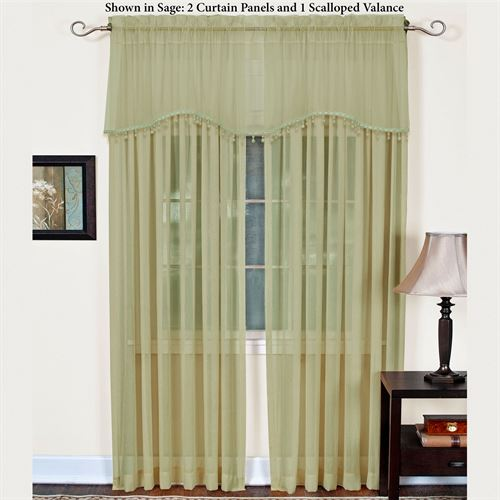 Mystic Shimmer Tailored Curtain Panel