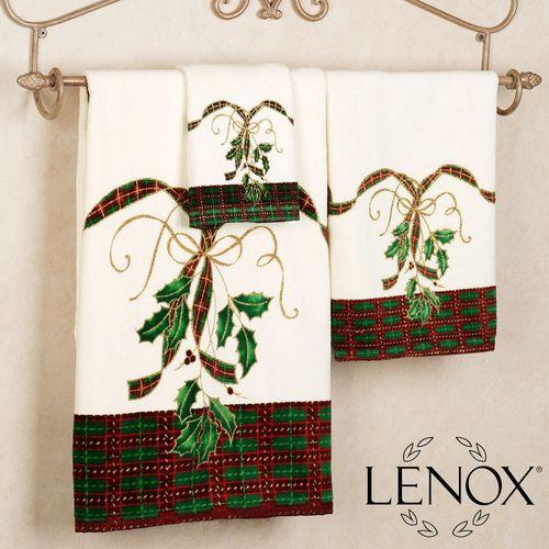 Holiday Nouveau Towel Set Ivory Bath Hand Fingertip