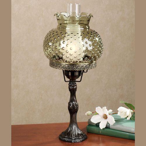 Ciara hobnail globe hurricane table lamp ciara hobnail table lamp mozeypictures Choice Image
