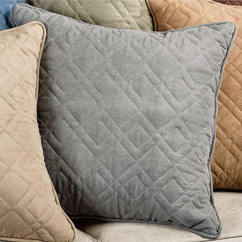 Mason Piped Accent Pillow 18 Square