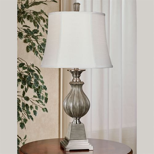 Alviar Table Lamp Slate Gray