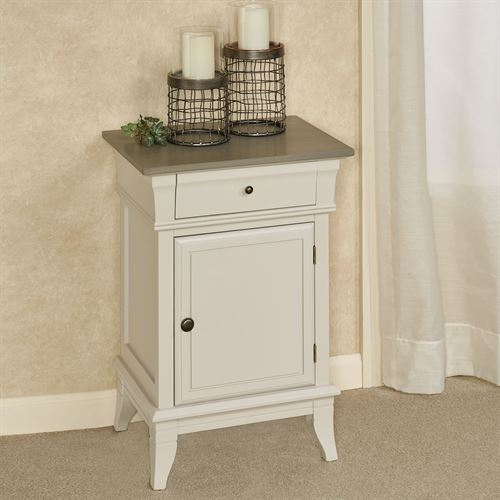 Clairvaux Side Cabinet Off White