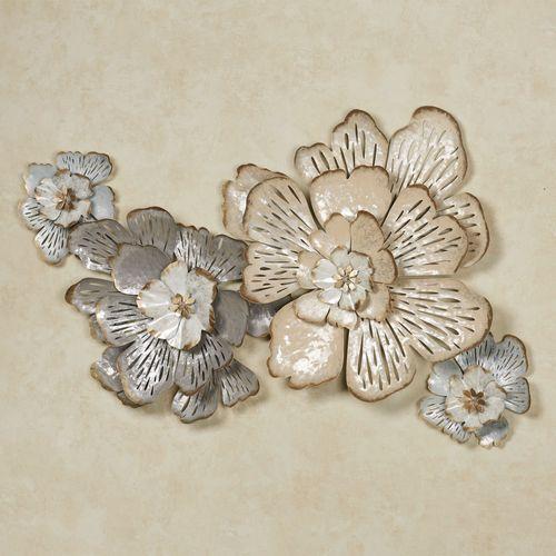 Grand Allure Floral Wall Art Cream