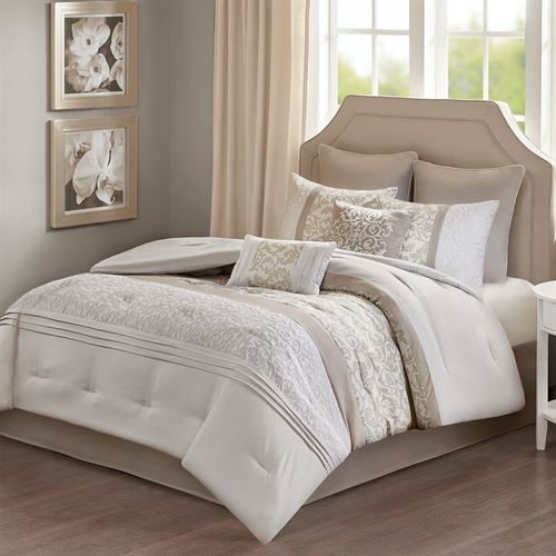 Ramsey Comforter Bed Set Natural