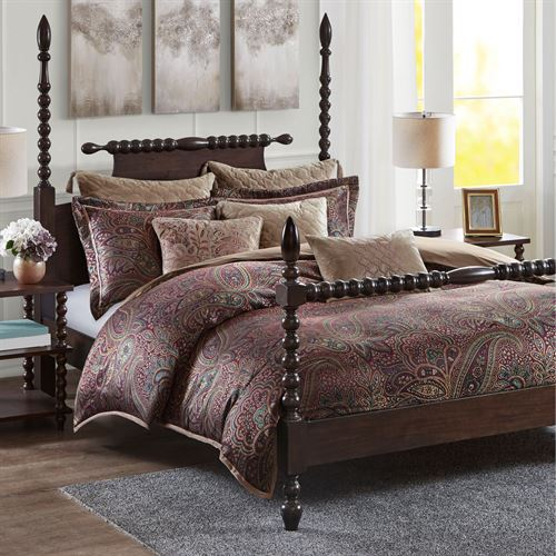 Zabol Comforter Bed Set Multi Jewel