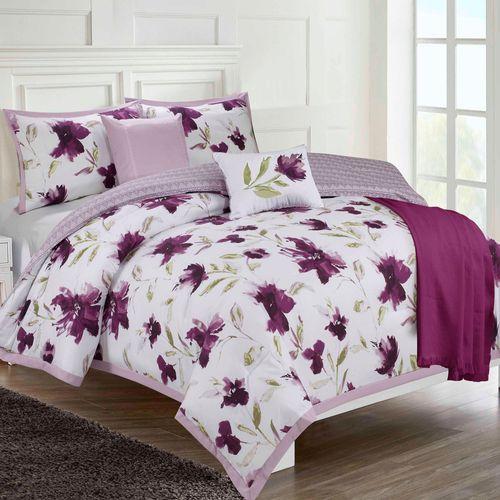 Monterrey Comforter Bed Set Purple