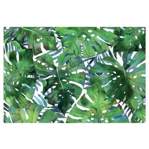 Palms Cushioned Floor Mat Green 30 x 20